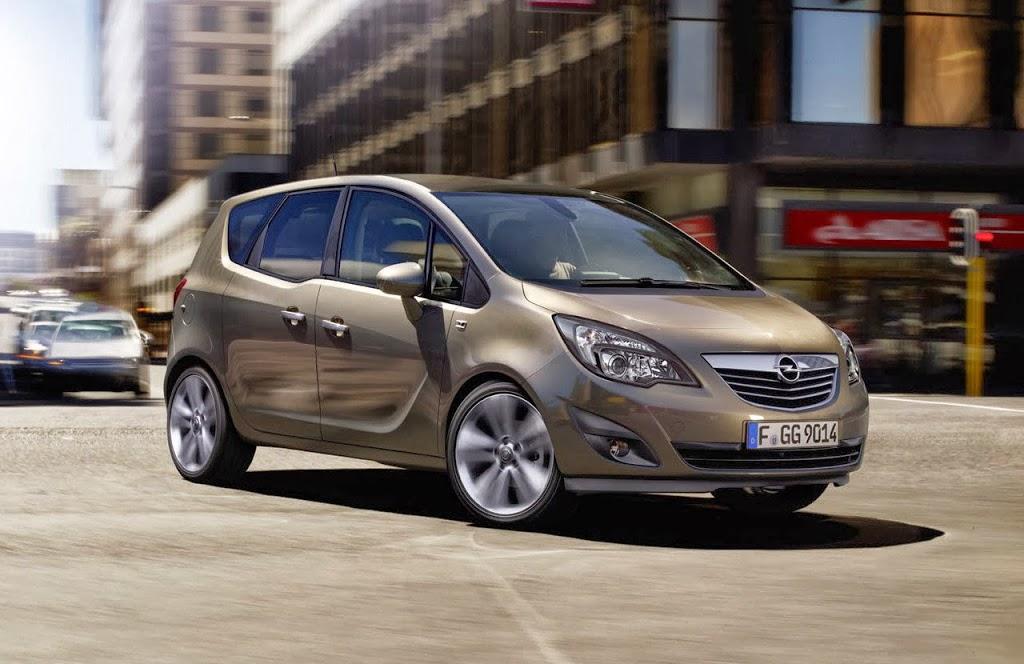 Ανανεώνεται το Opel Meriva