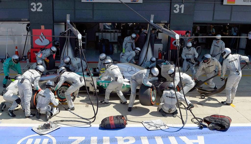 Ρεκόρ Pit stop για τη Mercedes στην F1