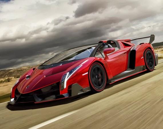 Η καυτή Lamborghini Veneno Roadster