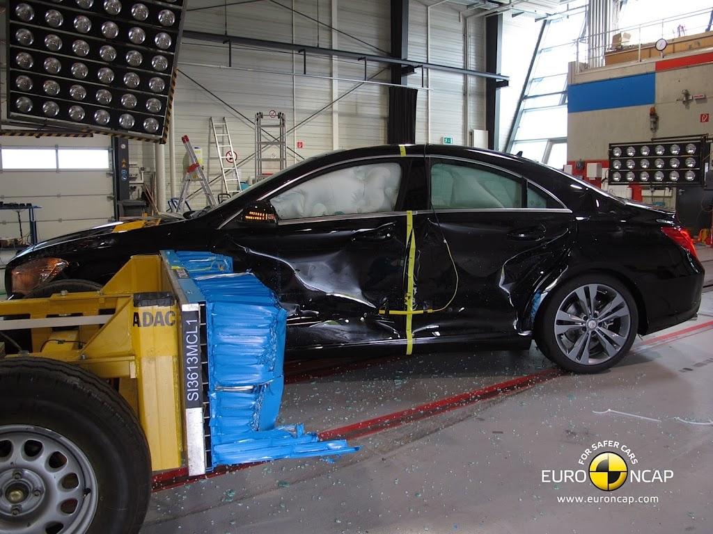Euro NCAP τέσσερα νέα μοντέλα 5 αστέρων