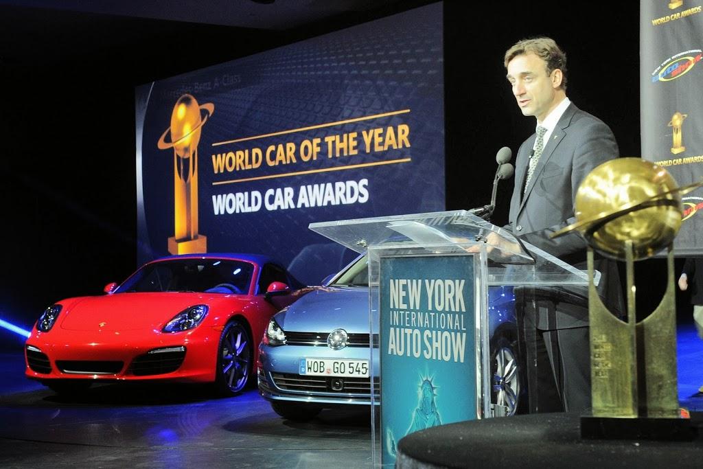 Οι υποψήφιοι του World Car of the Year 2014