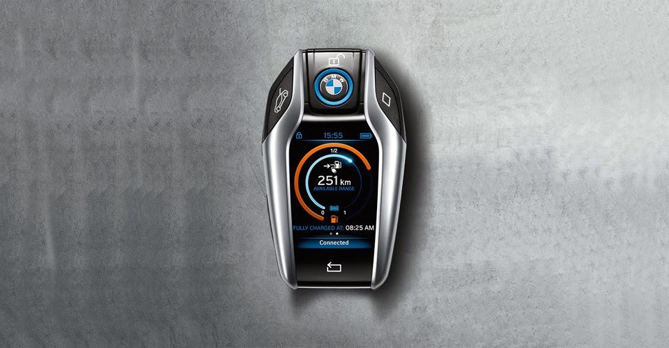 Το έξυπνο κλειδί της BMW