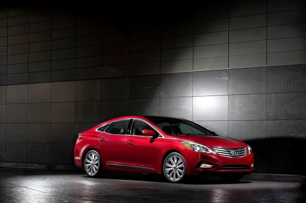 Η πολυτέλεια του Hyundai Azera