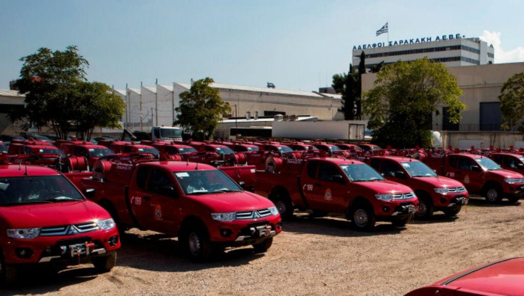 Νέα πυροσβεστικά οχήματα