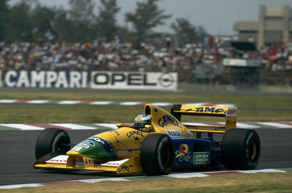 23 χρόνια από το πρώτο βάθρο του Schumacher