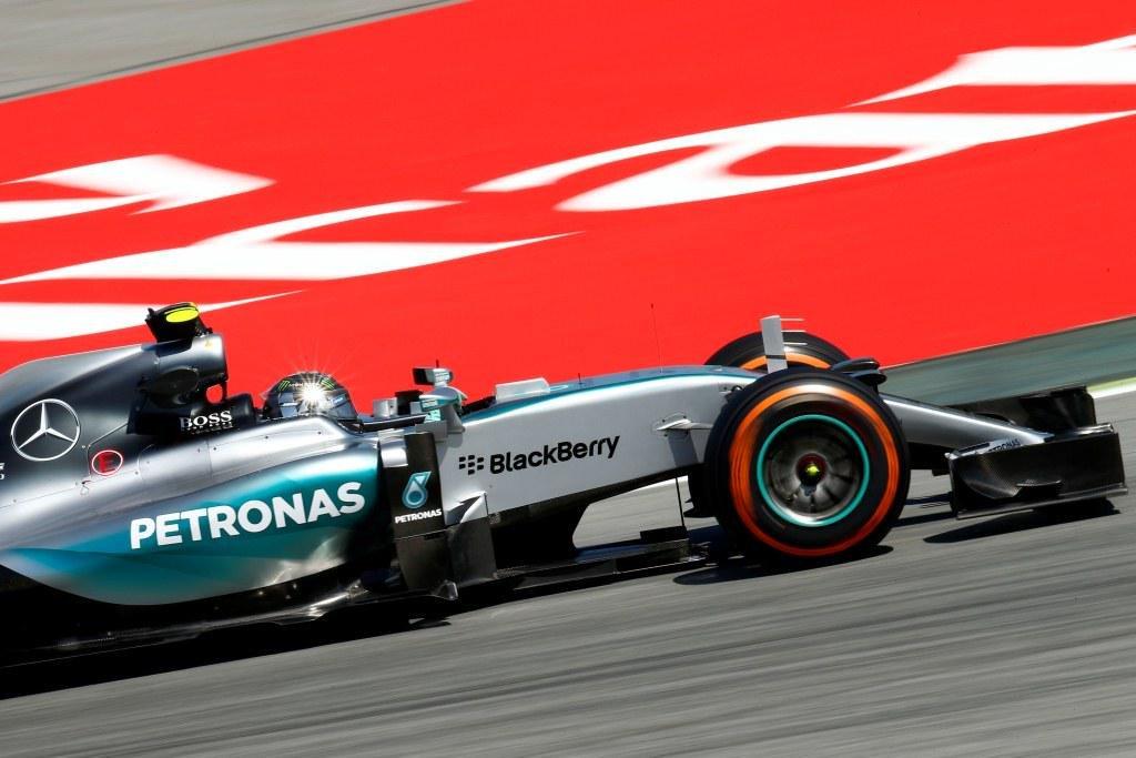 Ο Rosberg poleman στο Ισπανικό GP