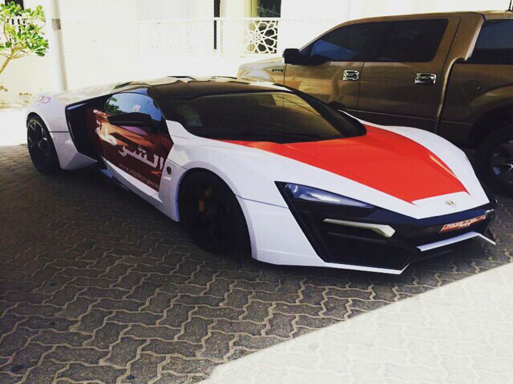 Ένα Lykan για την αστυνομία του Abu Dhabi