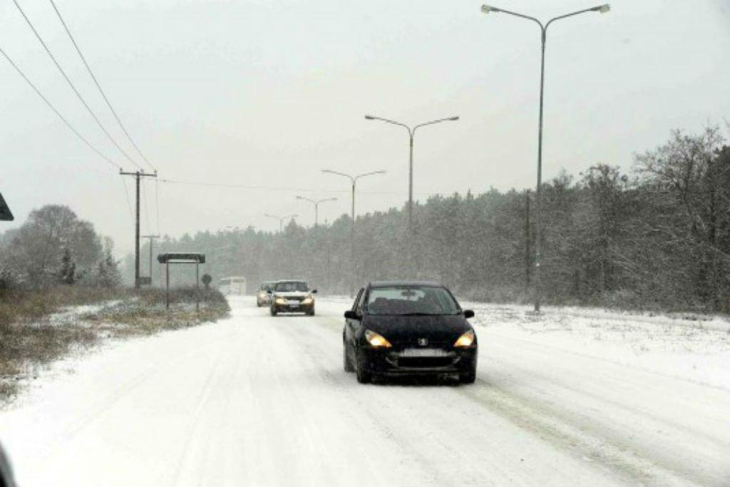 Ασφαλής οδήγηση στο χιόνι