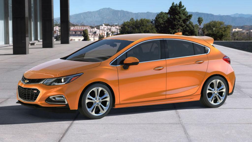 Το Chevrolet Cruze σε Hatchback μορφή