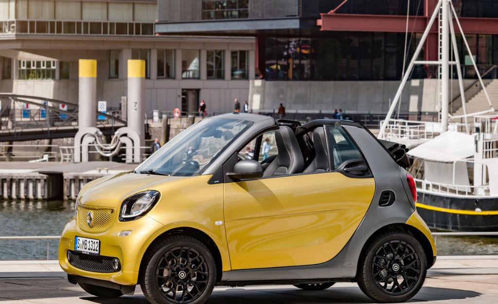 Smart Fortwo Cabrio από 16.895€