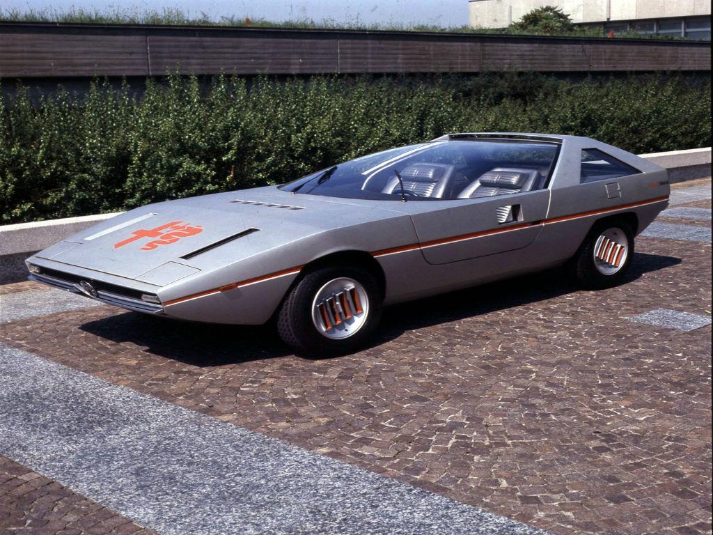 Η επαναστατική Alfa Romeo Caimano