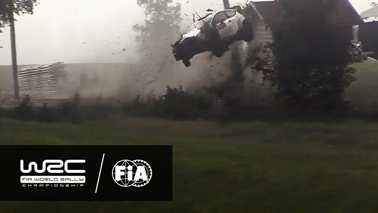 Video: WRC Crash 2016