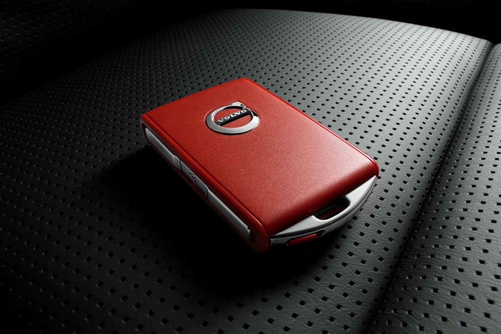 Το κόκκινο κλειδί της σειράς 90 της Volvo