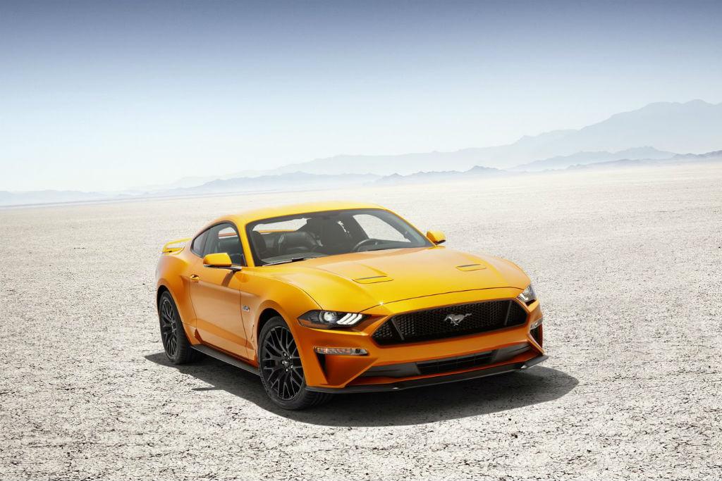 Το πολυαναμενόμενο facelift της Ford Mustang