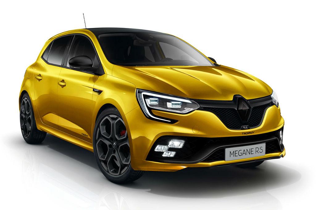 Η Renault ετοιμάζει το νέο Megane RS