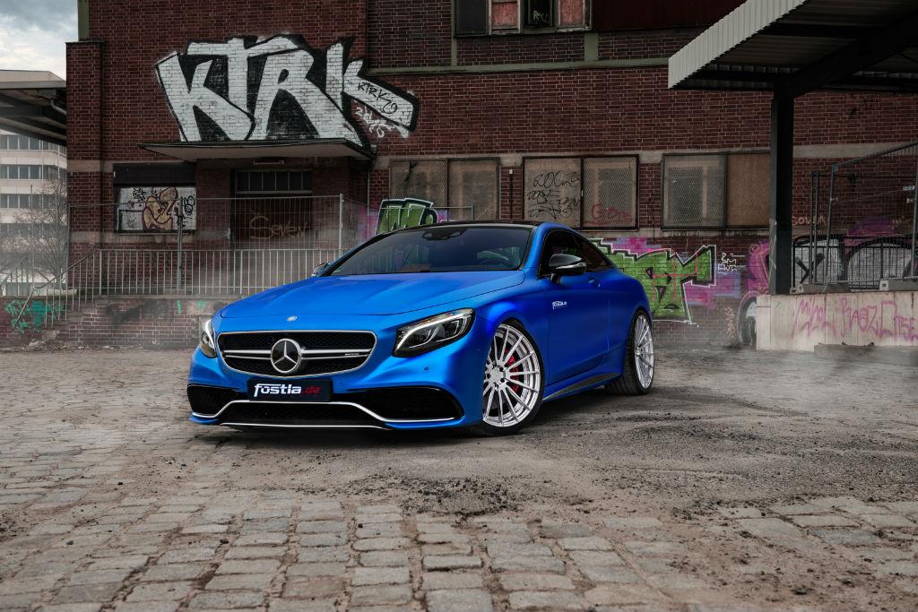 Η βελτιωμένη Mercedes – AMG S63 S Coupe από τη Fostla