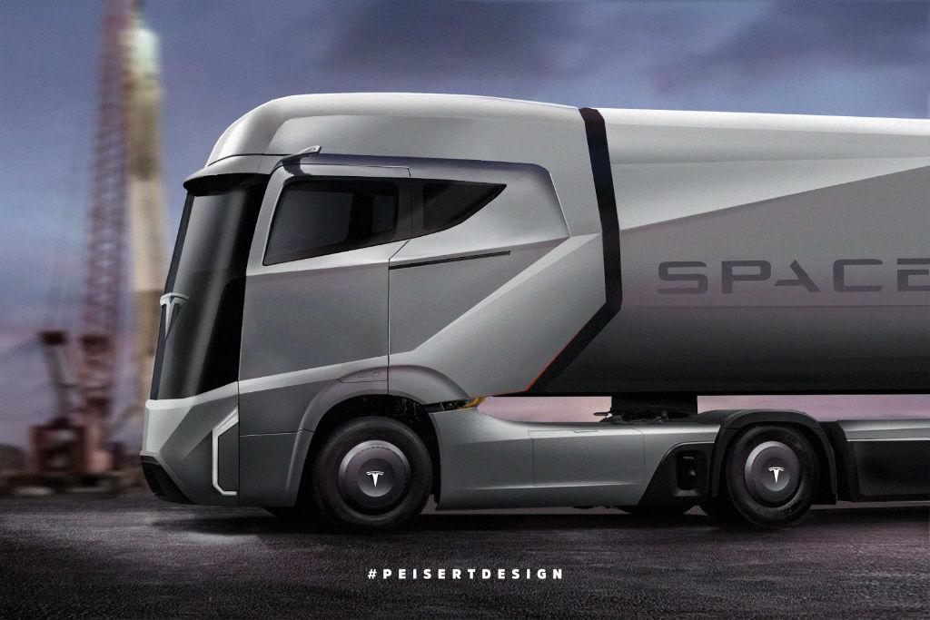 Ηλεκτρικό φορτηγό από την Tesla