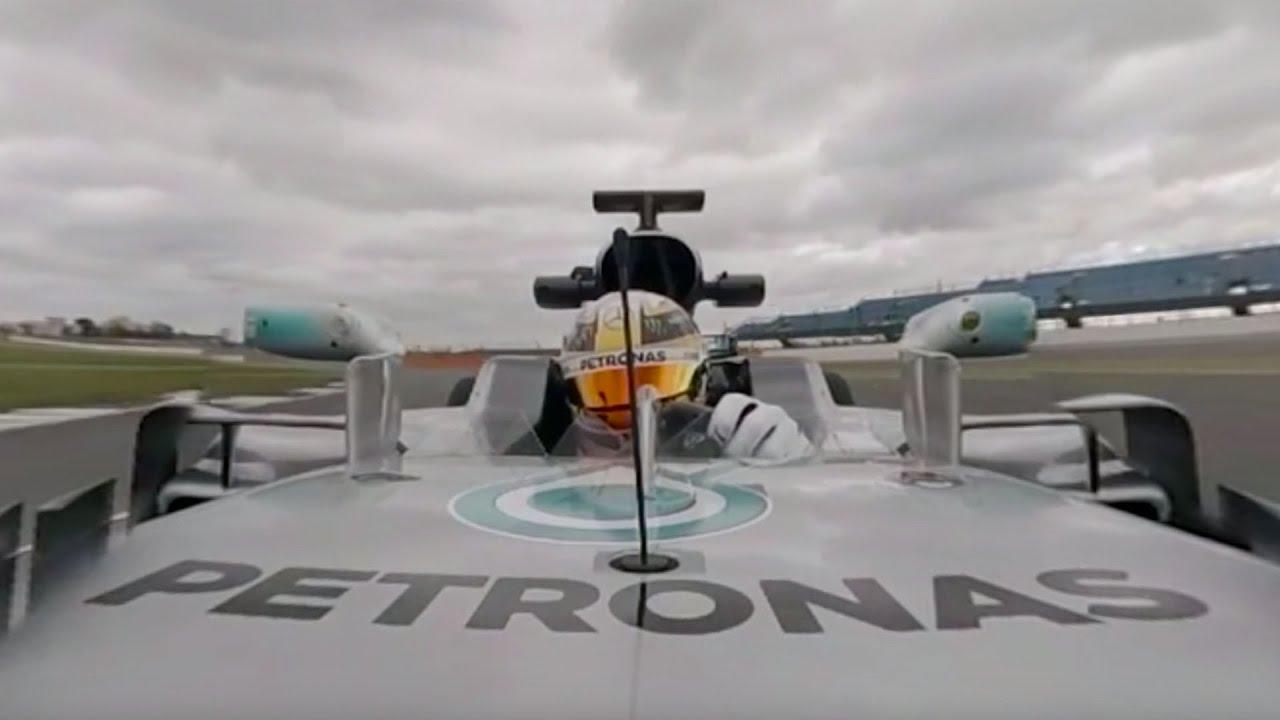 Video: Ο Hamilton απολαμβάνει το νέο μονοθέσιο