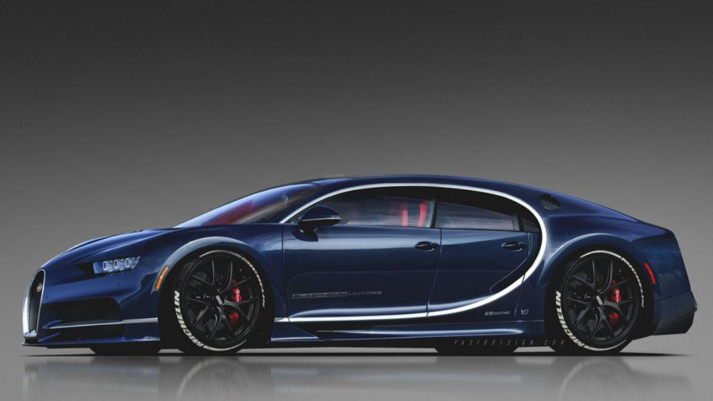 Δύσκολο να υπάρξει τετράθυρη και Shooting Brake Bugatti Chiron