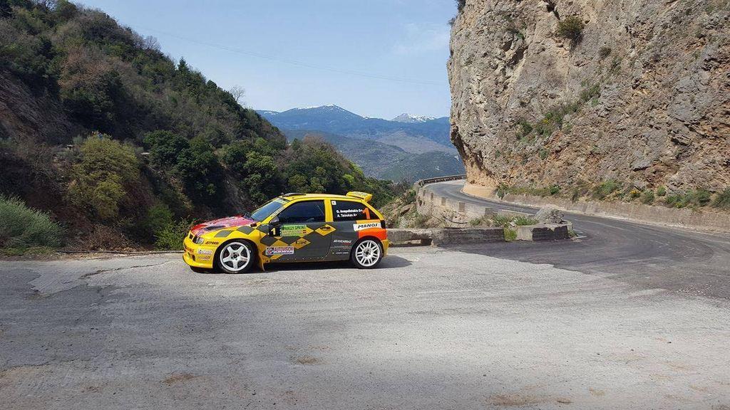 """Τα αποτελέσματα του 8ου Rally Sprint Μπράλου """"Τάσος Καπέλλας"""""""