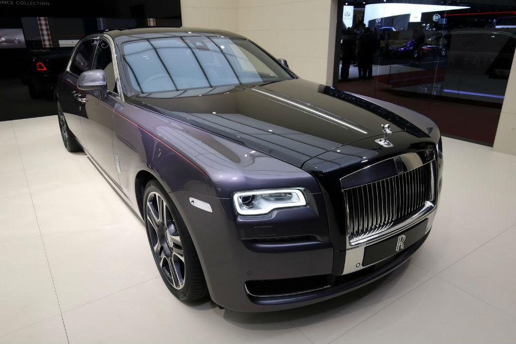 Μια Rolls – Royce Ghost Elegance από πραγματικά διαμάντια