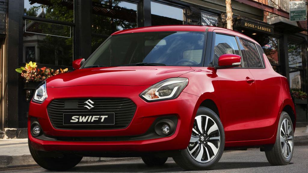 Νέο Suzuki Swift από 11.680€