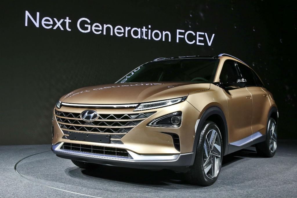 Η Hyundai αποκαλύπτει την επόμενη γενιά οχήματος υδρογόνου