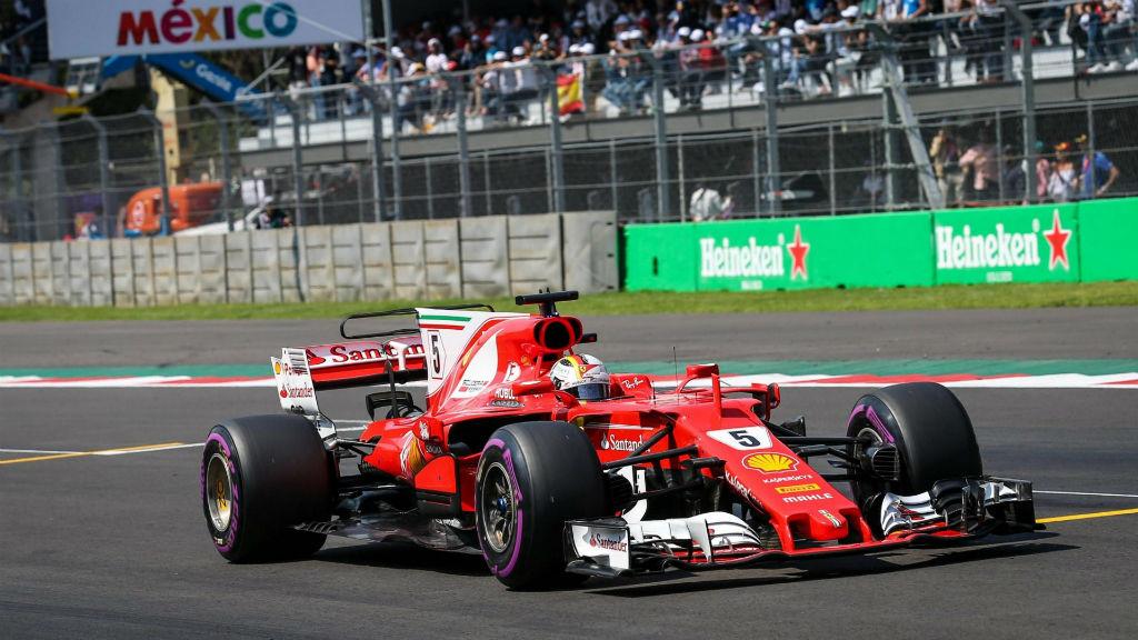 O Vettel την pole position στο Μεξικό