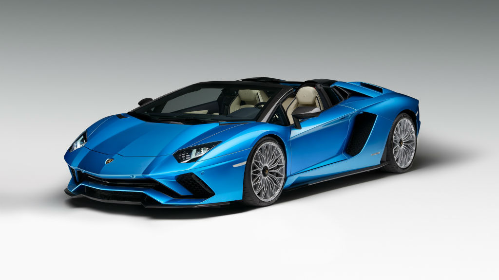 Η νέα Lamborghini Aventador S Roadster