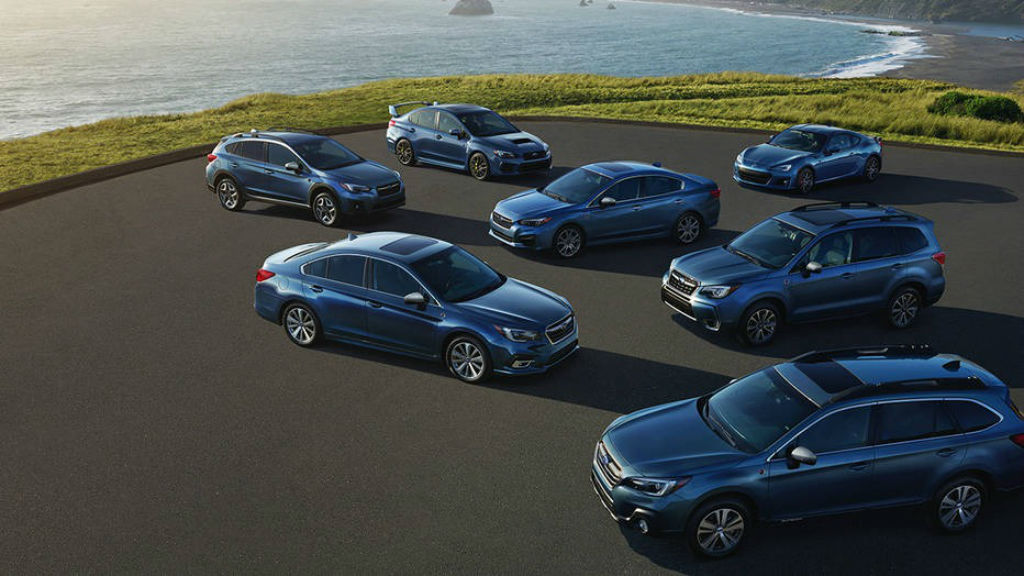 Επετειακές εκδόσεις για τα 50 χρόνια της Subaru στην Αμερική