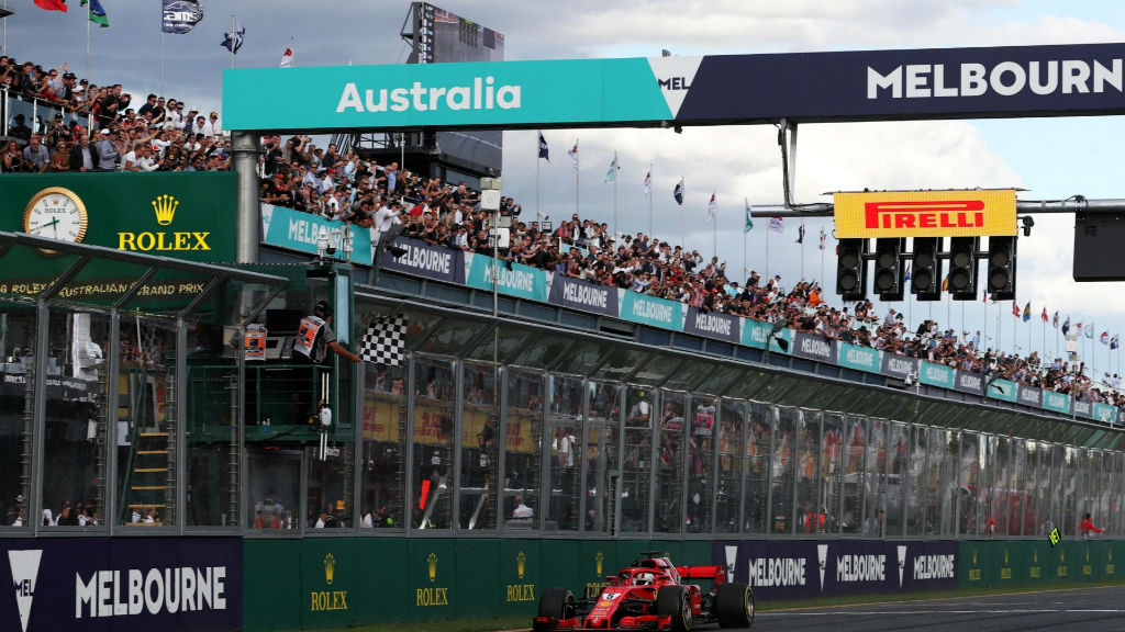 Θρίαμβος Vettel στην Αυστραλία