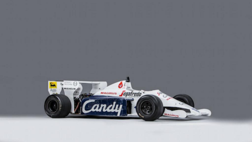 Σε δημοπρασία η Toleman του Ayrton Senna