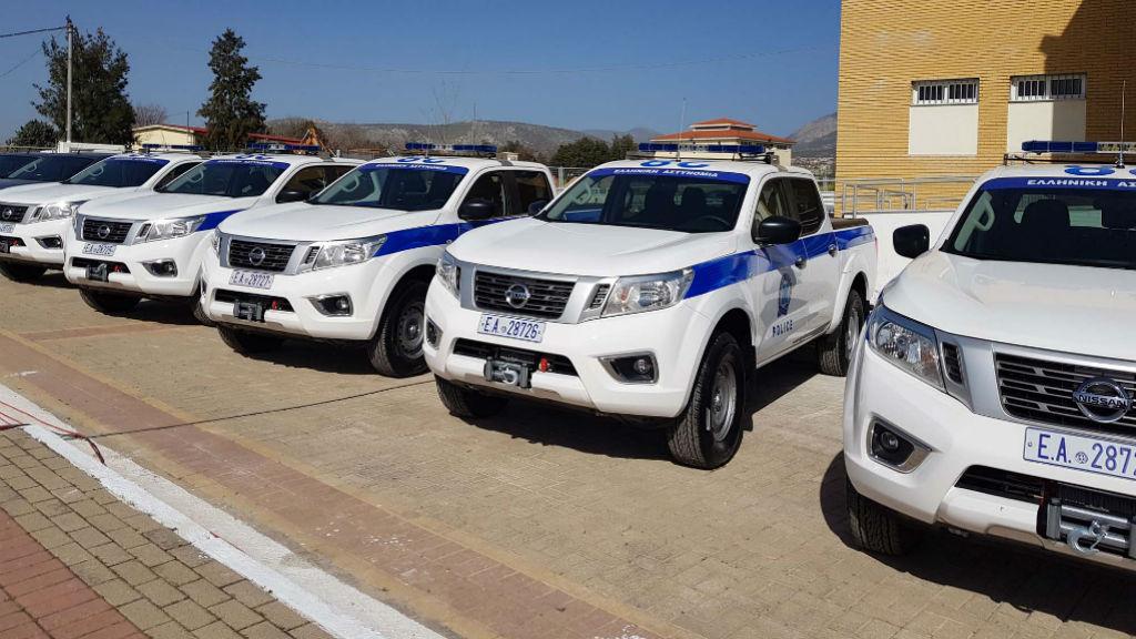 8 νέα Nissan Navara στην ΕΛ.ΑΣ.