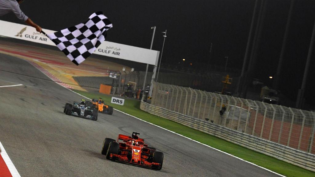 Τεράστια νίκη Vettel στο Μπαχρέιν