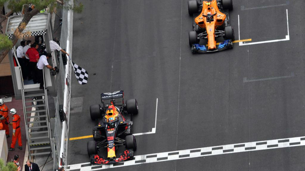 Ο Ricciardo νίκησε στο Μονακό