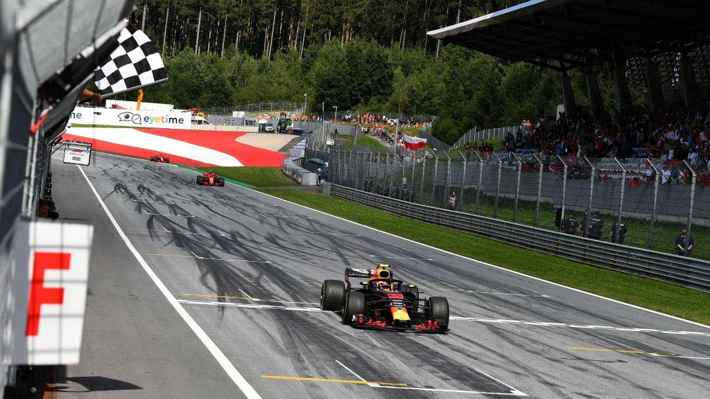 Μεγάλη νίκη του Verstappen στην Αυστρία