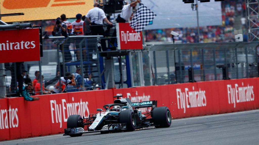 Ανατρεπτικό GP στη Γερμανία με νικητή τον Hamilton
