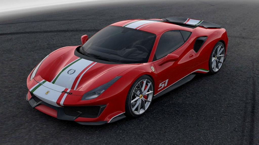 Ειδική έκδοση της Ferrari 488 Pista σε διαφορετικά χρώματα