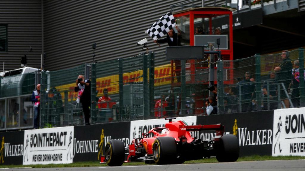 Νίκη Vettel στο Spa