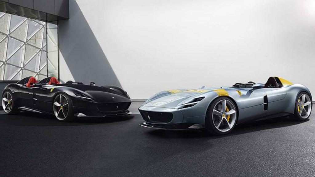Τα Monza SP1 και SP2 της Ferrari