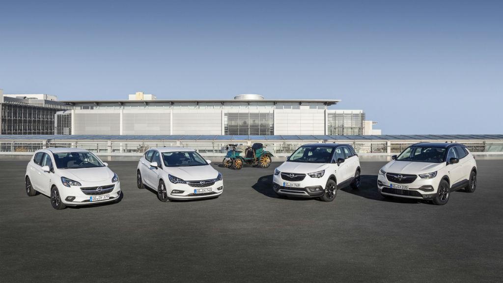 Επετειακές εκδόσεις για τα 120 χρόνια της Opel
