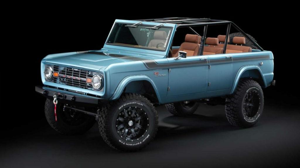 Ένα παλιό Bronco γίνεται προάγγελος για το μέλλον