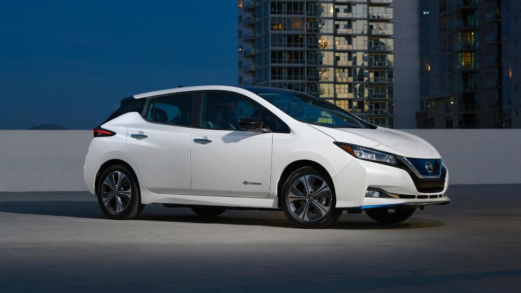 Το νέο Nissan Leaf e+