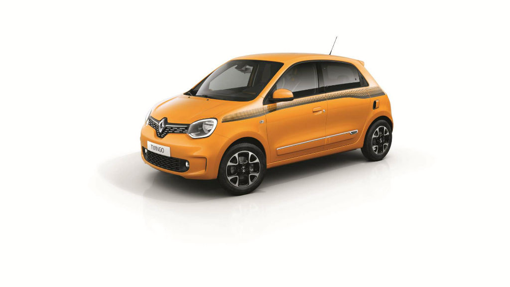 Ανανεώθηκε το Renault Twingo
