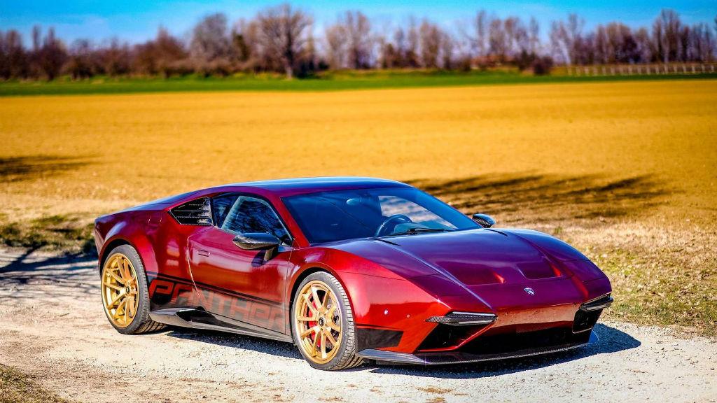 Η Ares Design αναβιώνει το De Tomaso Pantera