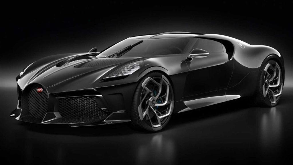 Η νέα μαύρη Bugatti