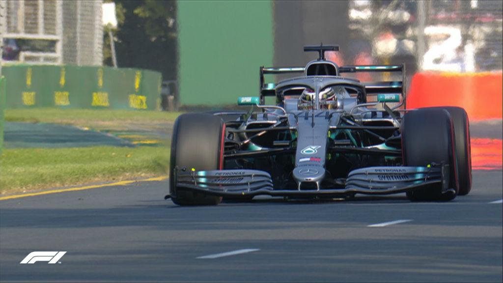Pole Position για Hamilton και 1-2 για Mercedes στην Αυστραλία