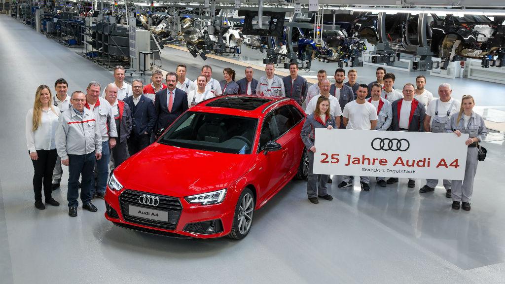 25 χρόνια Audi A4
