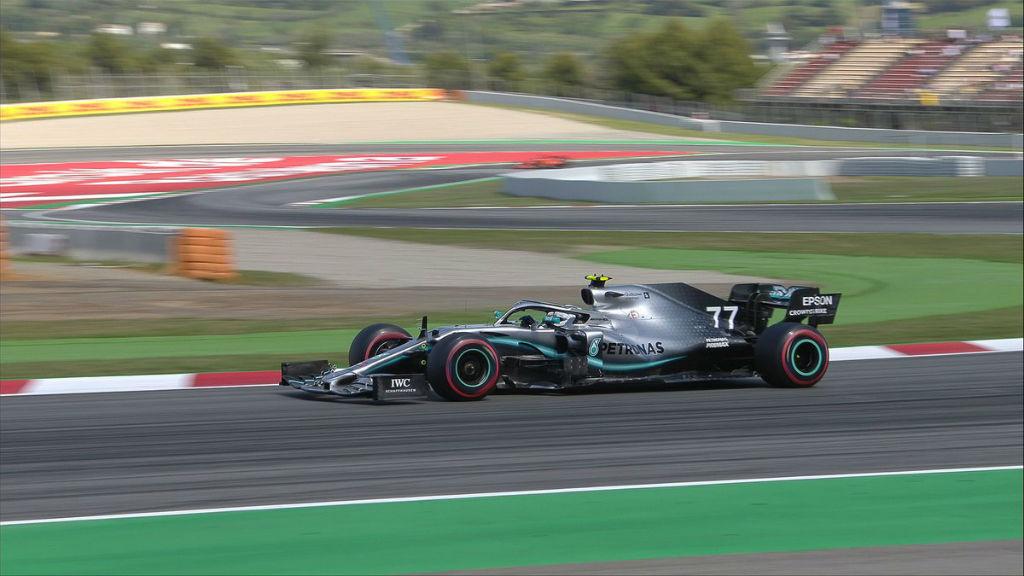 Pole Position για τον Bottas στην Ισπανία