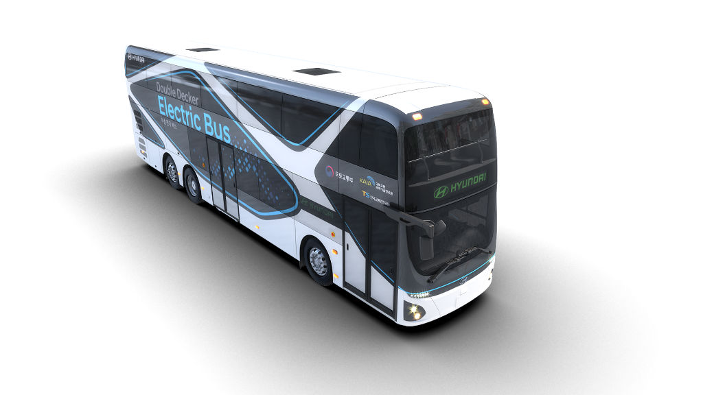 Το διπλό ηλεκτρικό λεωφορείο της Hyundai